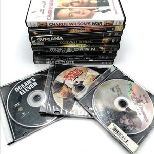 4/$30 Lot of 11 DVDs